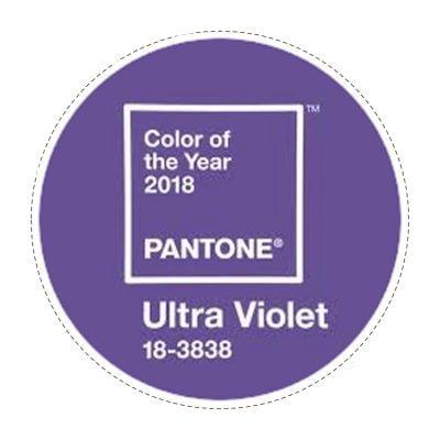 Ultra Violet 18-3838 Pantone kleur van het jaar