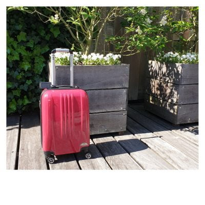 Inpakstress koffer
