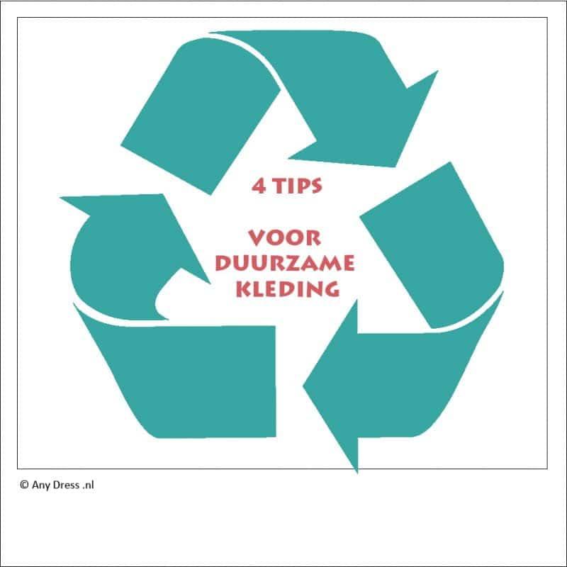 Blog 4 tips duurzame kleding