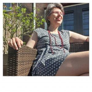 Isabella | Ronde hals | Kapmouw | Gerende rok