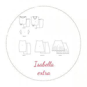 Naaipatroon Isabella Extra